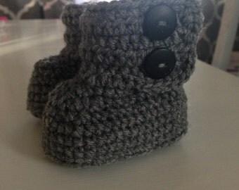 Crochet booties, Baby booties, Boots, Button booties, Toddler booties, Preemie