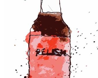 Relish Bottle
