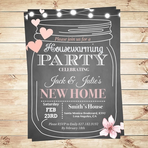 housewarming party invitations template by diypartyinvitation. Black Bedroom Furniture Sets. Home Design Ideas