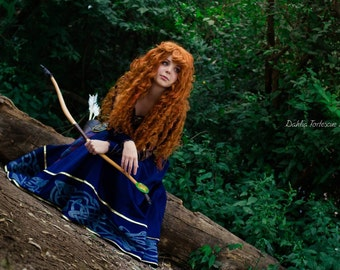 Disney Merida epilogue dress custom made costume cosplay