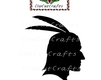 American Indian Thanksgiving Holiday Cut File Print and Cut Print & Cut Scrapbook Vector Print Vinyl and Paper Craft Design SVG SPS PNG