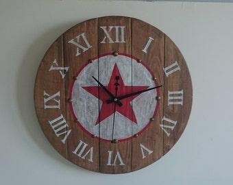 Wall clock handmade Ref: 014