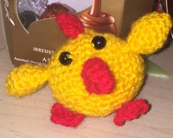 Crochet chicken / chick, easter decoration, gift for kids, amigurumi chicken