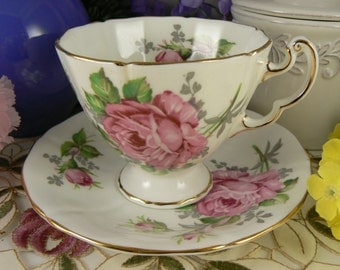 Unique Grey Rose China Related Items Etsy