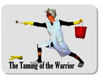 The Taming of the Warrior refrige magnet