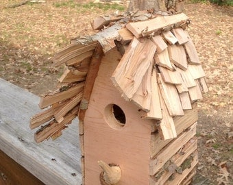 Custom non-traditional style bird house