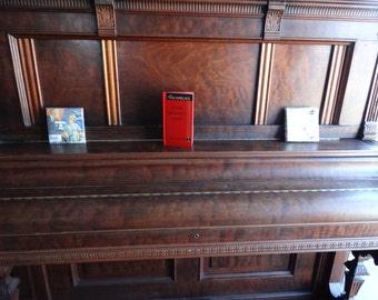 Vintage Piano Bar with CD player