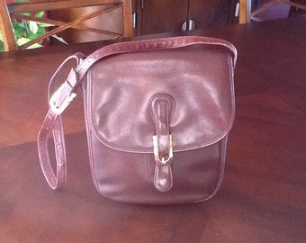 Brown Leather Purse Morris Moskowitz