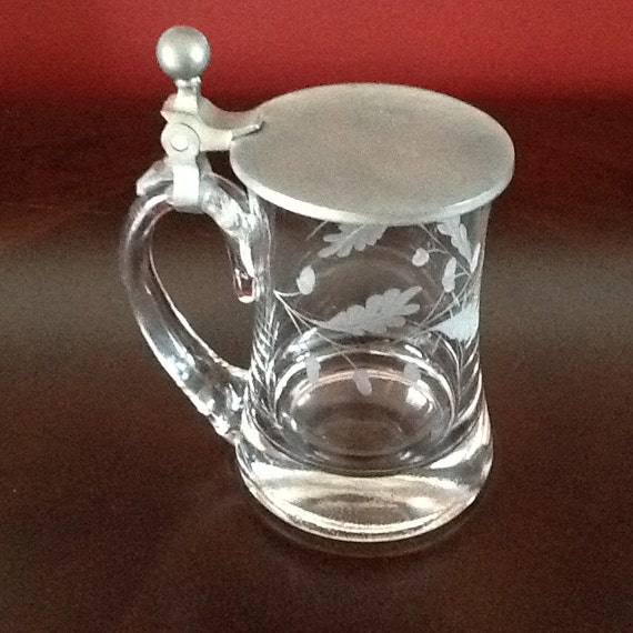 Glass and Metal Stein