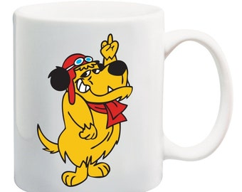 "Mutley's Cheeky ""Middle Finger"" Mug - Brand New and Boxed"