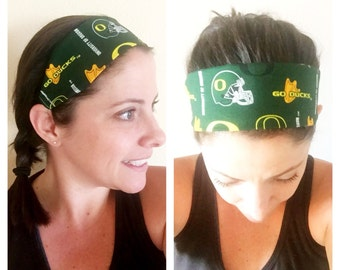 Oregon Ducks headbands