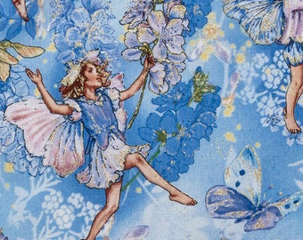 Dawn Fairy fabric by Michael Miller. S074