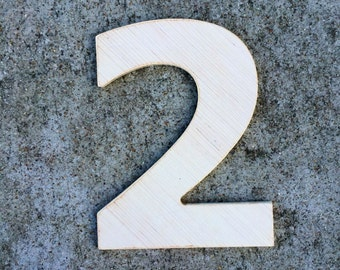 12 Inch Wooden Numbers, wood number 2, number 1, number 3, number 4, number 5, number 6, number 7, number 8, number 9, large wood numbers,