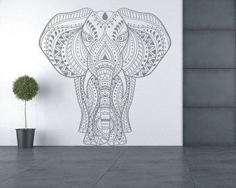 Elephant Wall Decal - Vinyl sticker