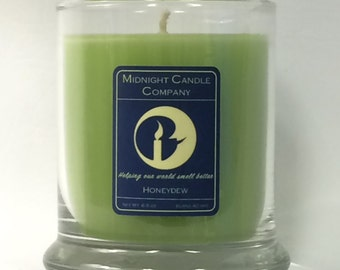 Honeydew Scented Candle, 75 Hour Burn Time