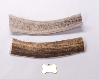 "Large Split ""Marrow"" Elk Antler Dog Chew"