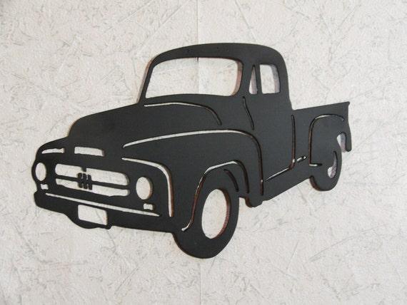 1953 international harvester pickup truck wall art for International wall decor