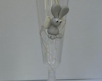 A Flying Bunny / Een Vliegend Konijn. (Necklaces)
