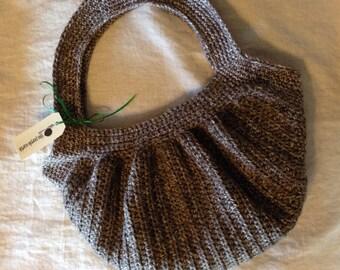 Crochet Hobo Style Handbag
