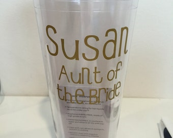 Personalized 20oz Tumbler with lid and straw