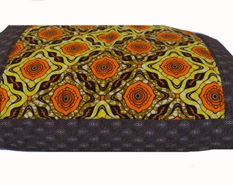 African Citrus Dog Bed Cover