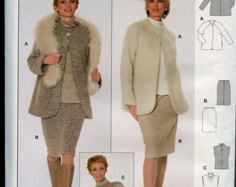 Burda Coordinates Pattern, Sewing Pattern, Jacket Skirt Top Pattern, UNCUT Pattern