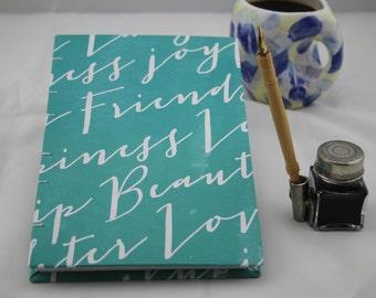 Handbound Notebook Journal Diary Sketchbook Organizer Bullet Journal