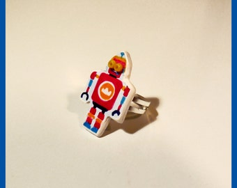 Ring adjustable robot 'Cousin of Nono'