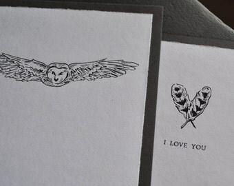 "Owl ""I Love You"" Card"