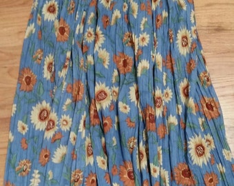 Sunflower Maxi Skirt