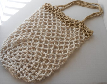 Crocheted Mesh Net Bag