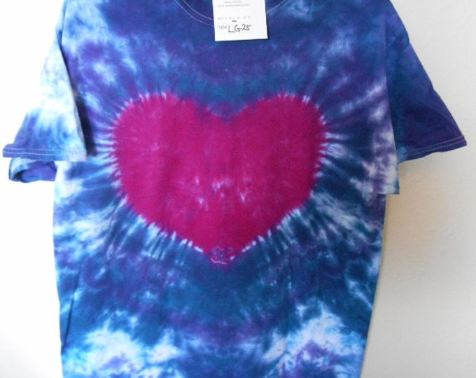100% cotton Tie Dye T-shirt MMLG25 size Large