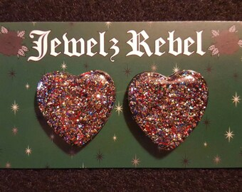 Heart of Confetti Earrings