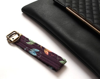 Fabric Key Ring/ Key Fob