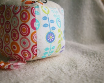 Bright Lion Baby Block, Custom Hand Painted Baby Toy