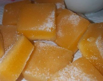 Sugar scrub soap cubes (sweet orange)