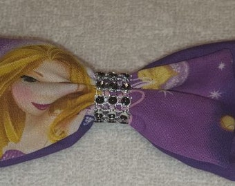 Tangled Rapunzel Hair Bow Barrette