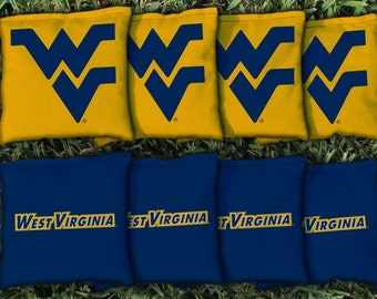 West Virginia University Mountaineers WVU Cornhole Bag Set