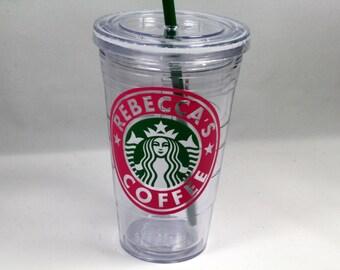 Genuine Starbucks Tumbler, Starbucks Cup, Gift For Her, Teacher Gift, Starbucks Gift, Birthday Gift, Starbucks Coffee, Coffee Lover Gift