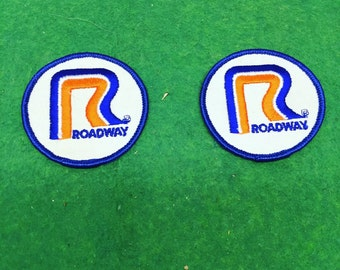 Vintage Roadway Trucking Patches (2)