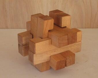 Star Box 05 3-d wood puzzle