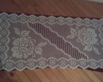 Handmade Tablecloth, Handmade Table Runners, Handmade Crochet Tablecloth, Crochet Tablecloths for Sale