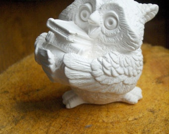 Handmade Sculpture of Owl, Sculpture for Coloring, Toys For Kids, KidsColoring3D