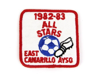 1982-83 ALL STARS: East Camarillo Ayso Vintage Patch