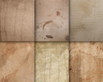 Digital paper background | grunge, download, sepia paper texture, pergament paper structure, used paper