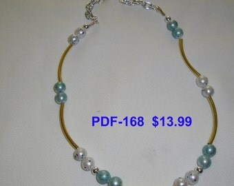 Necklace PDF-168   Copyrighted item