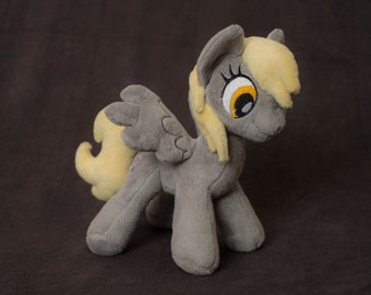 Plushie Derpy Hooves Custom Plush Ditzy Doo handmade my little pony friendship is magic toy