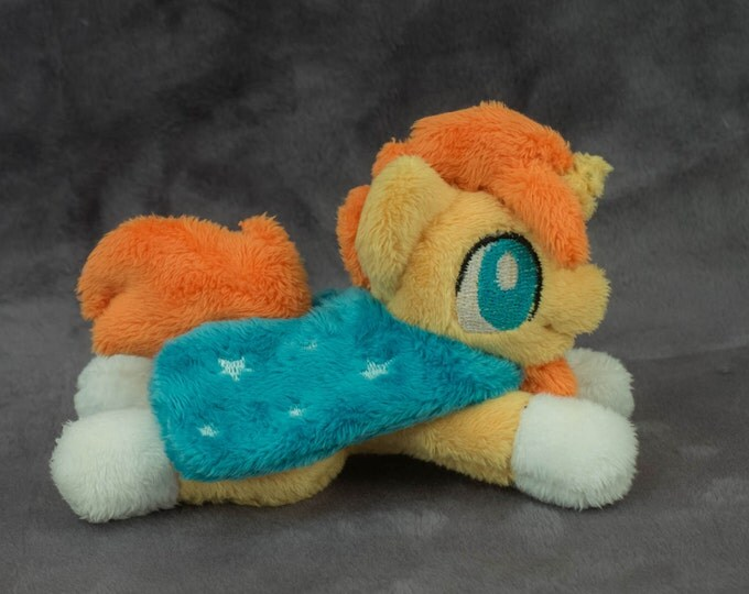 "My Little Pony Sunburst Plush toy tiny 5"" minky"