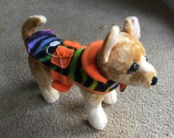 XXSmall fleece dog jacket