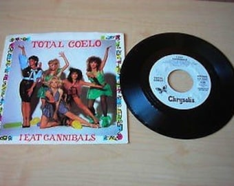 Total Coelo - I Eat Cannibals 7 inch Record 45 RPM PROMO Copy